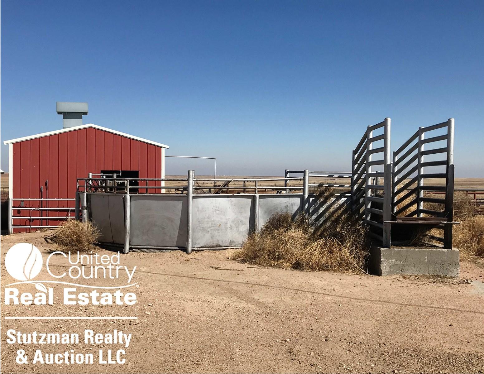 Commercial Feedyard For Sale In Western Kansas