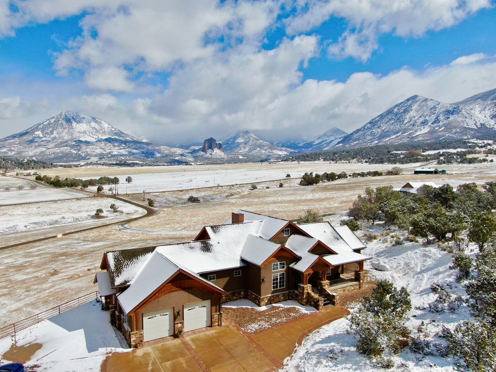 Western Colorado Luxury Mountain Home with Acreage For Sale