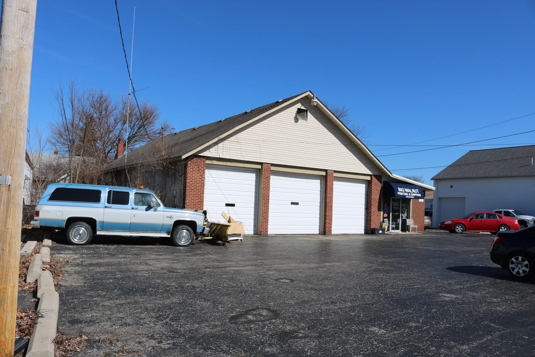 Commercial Property, Delaware County, Sunbury, Ohio