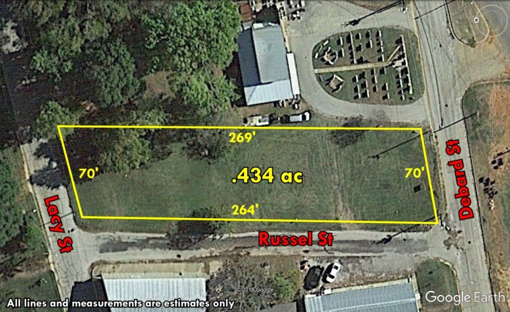 GREAT COMMERCIAL LOT SURROUNDED BY 3 STREETS FOR SALE