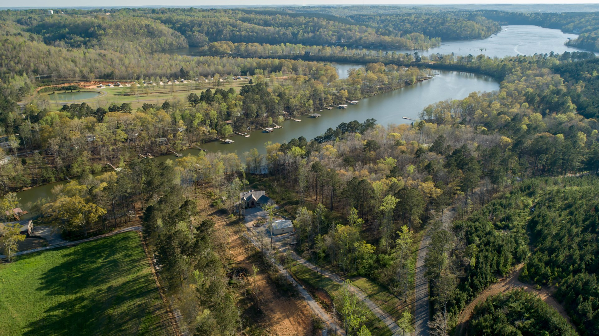 2.5 acre lot on Smith Lake - Crane Hill