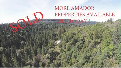 SOLD-Amador Mountain Property For Sale