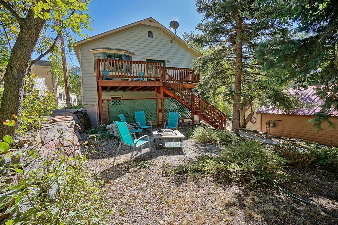 Ouray CO In Town Home Near School Great Views For Sale