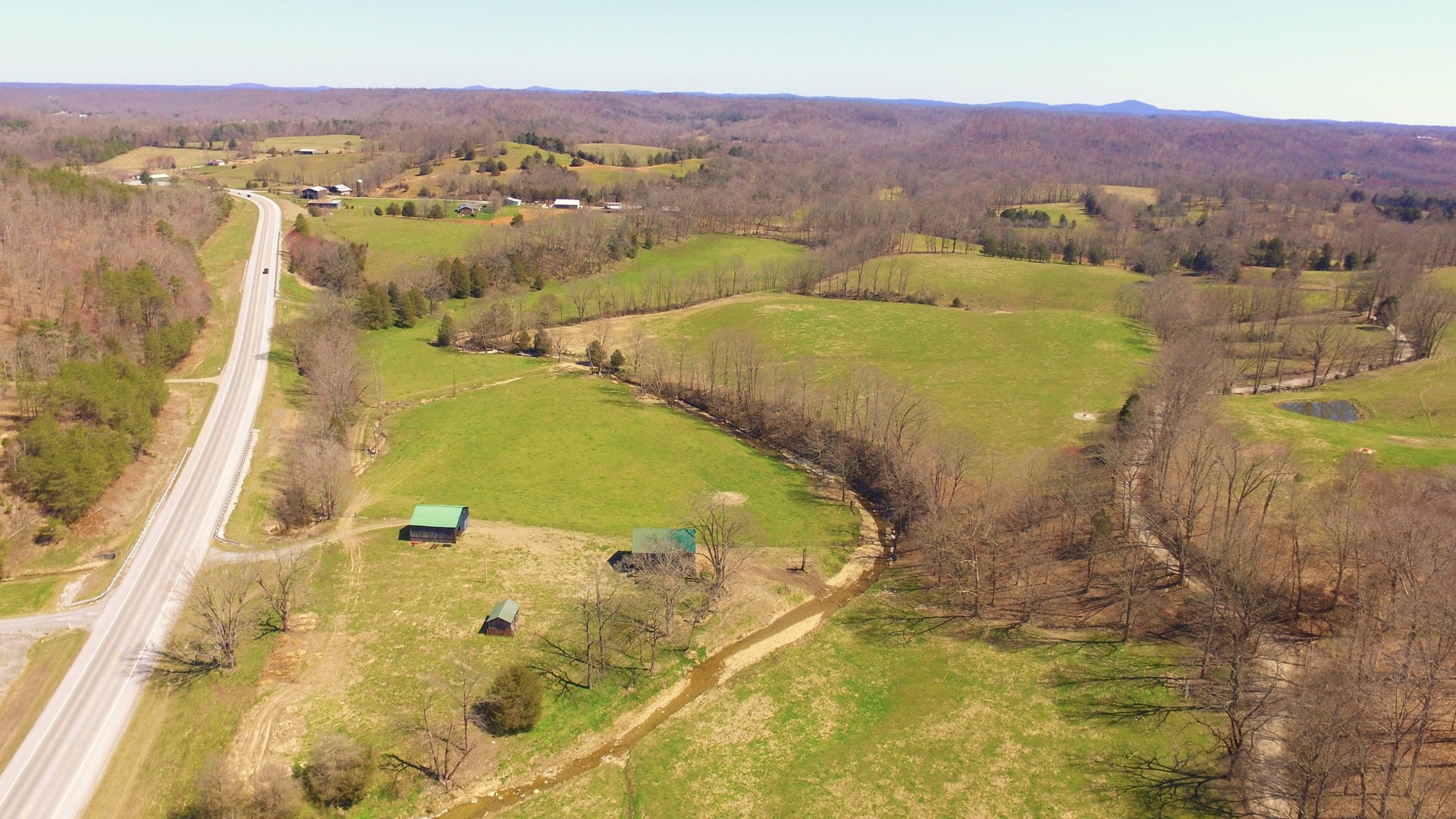 LARGE FARM WITH HWY. 127 FRONTAGE - CASEY COUNTY KENTUCKY