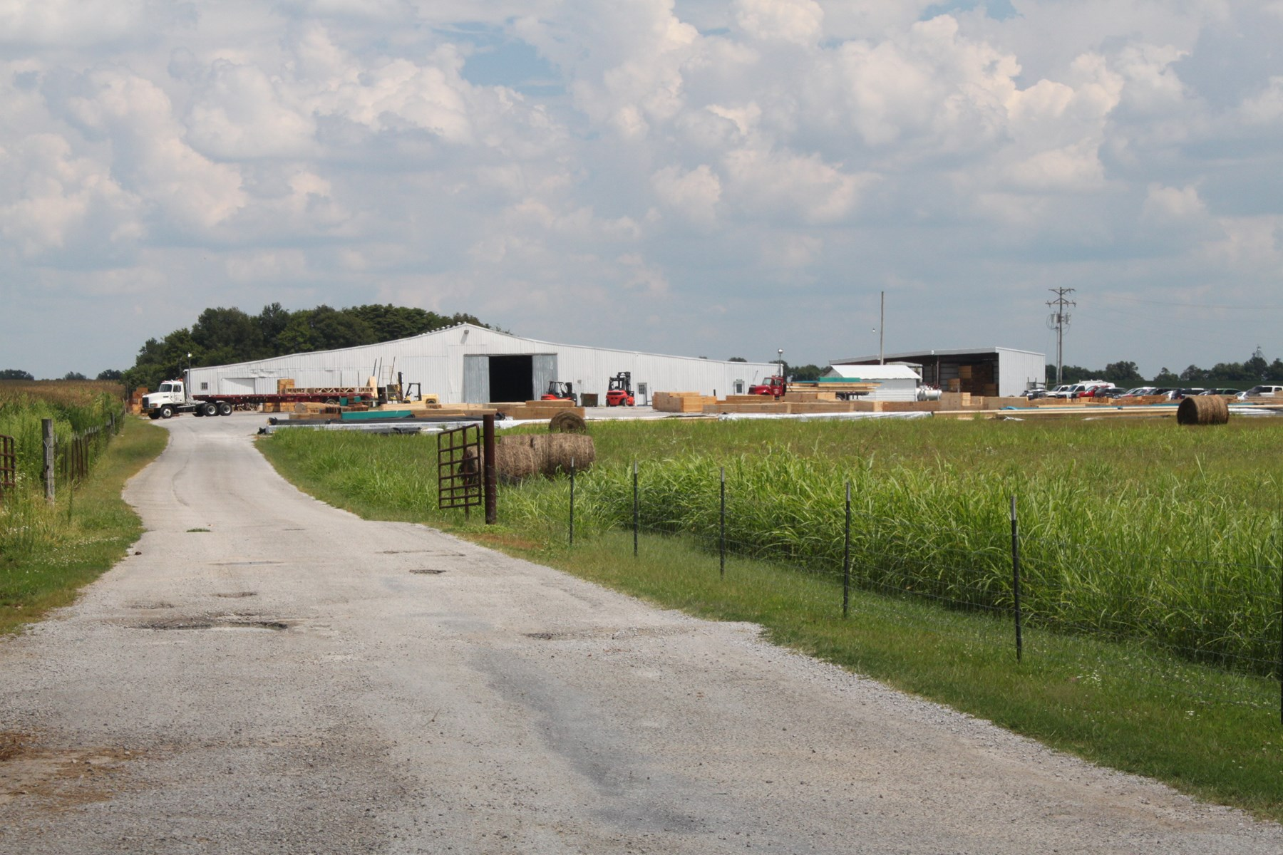 Commercial-Industrial Building and 13 Acres For Sale in KY