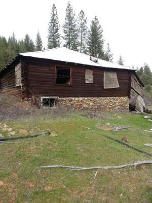 Historic Cabins Northern California Secluded Land For Sale