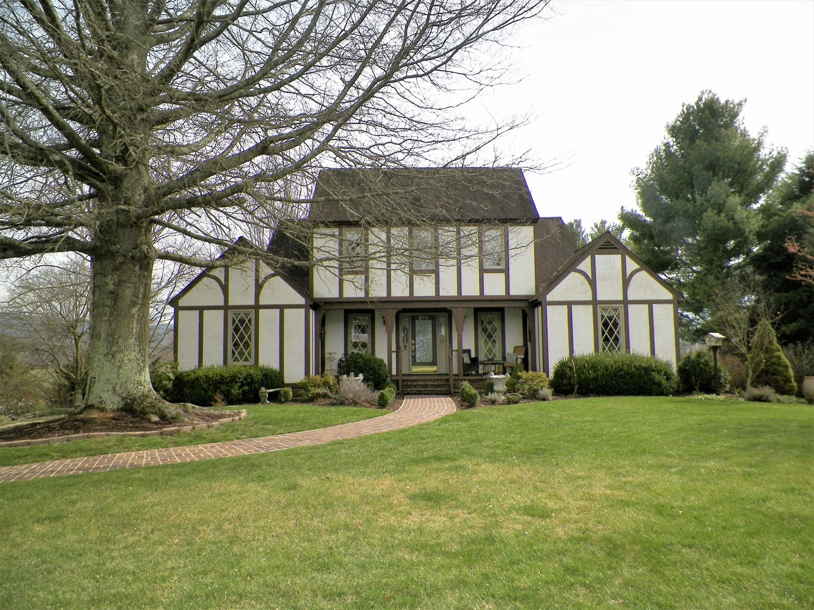 English Tudor Home in Wytheville, VA
