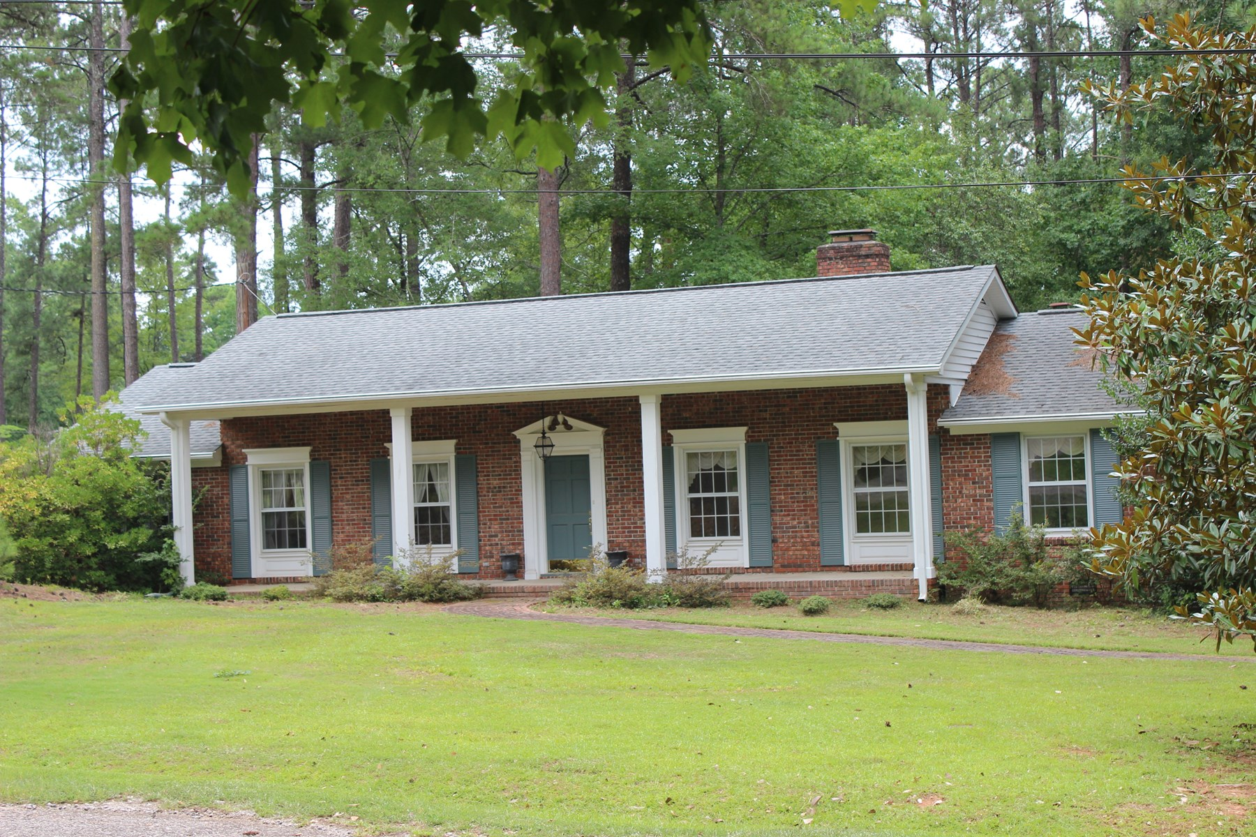 Brick Ranch in Historic Winnsboro, South Carolina