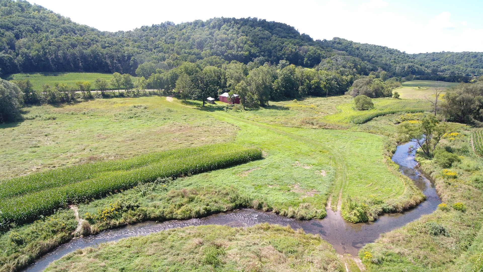 50 acres of vacant land hunting fishing land for sale in WI
