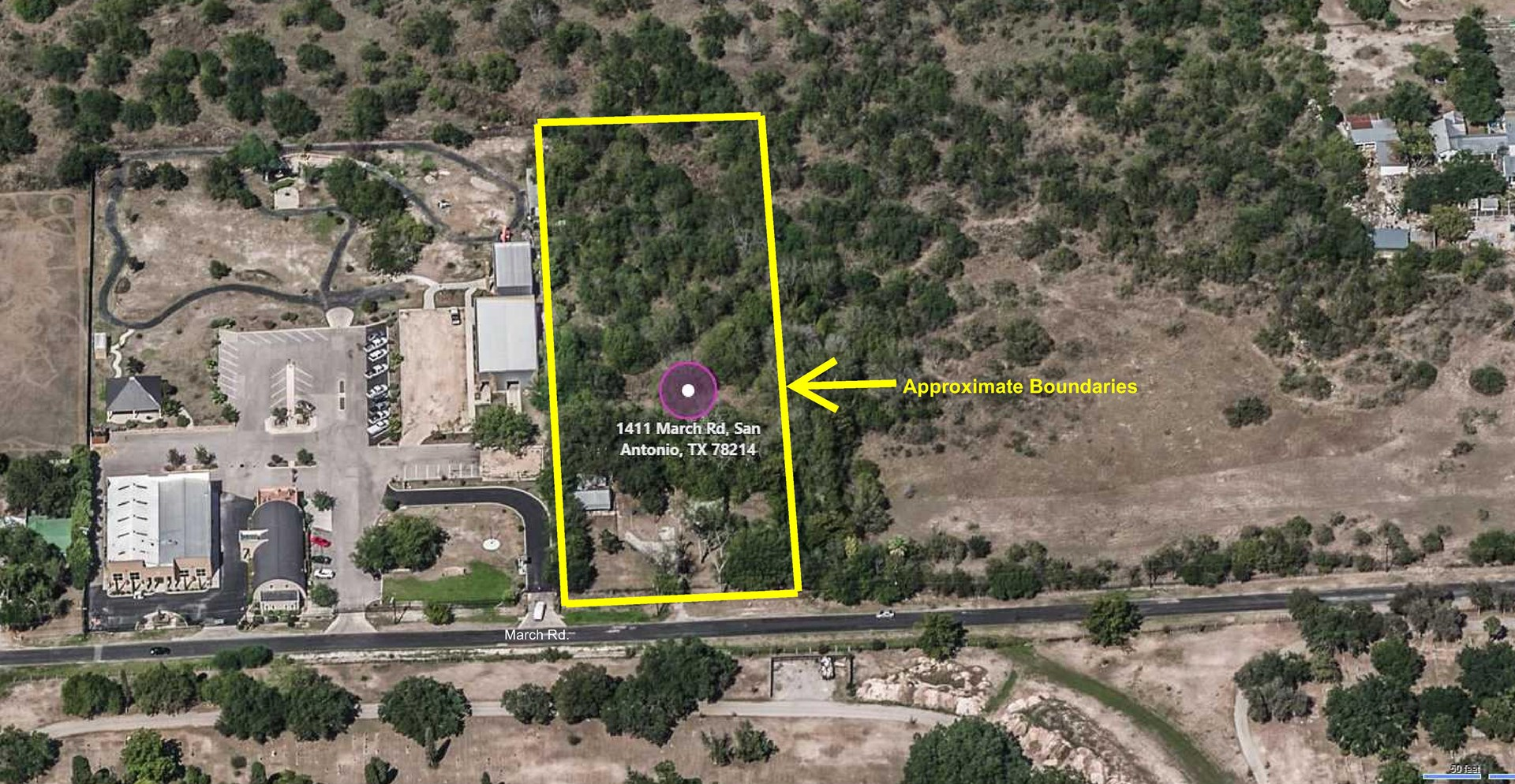 Acreage Lot for Sale in Downtown San Antonio, Texas!