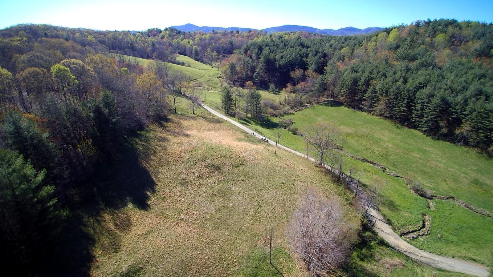 12.45 acres in Blue Ridge Mountains.