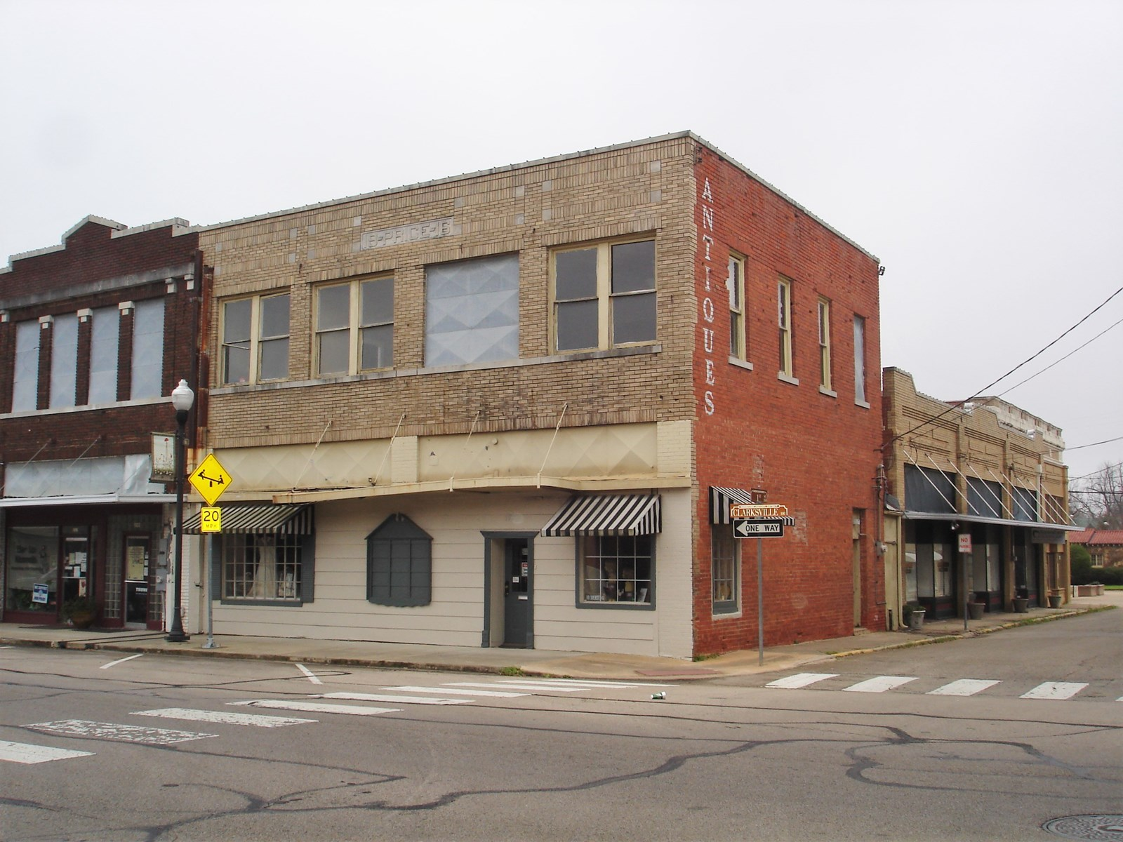 Commercial Building for Sale Historic Downtown Paris Texas