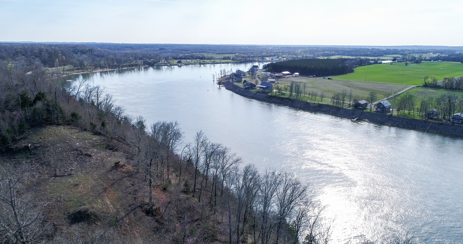 TN RIVER FRONT LAND FOR SALE TO BUILD ON, VIEWS, PRIVATE