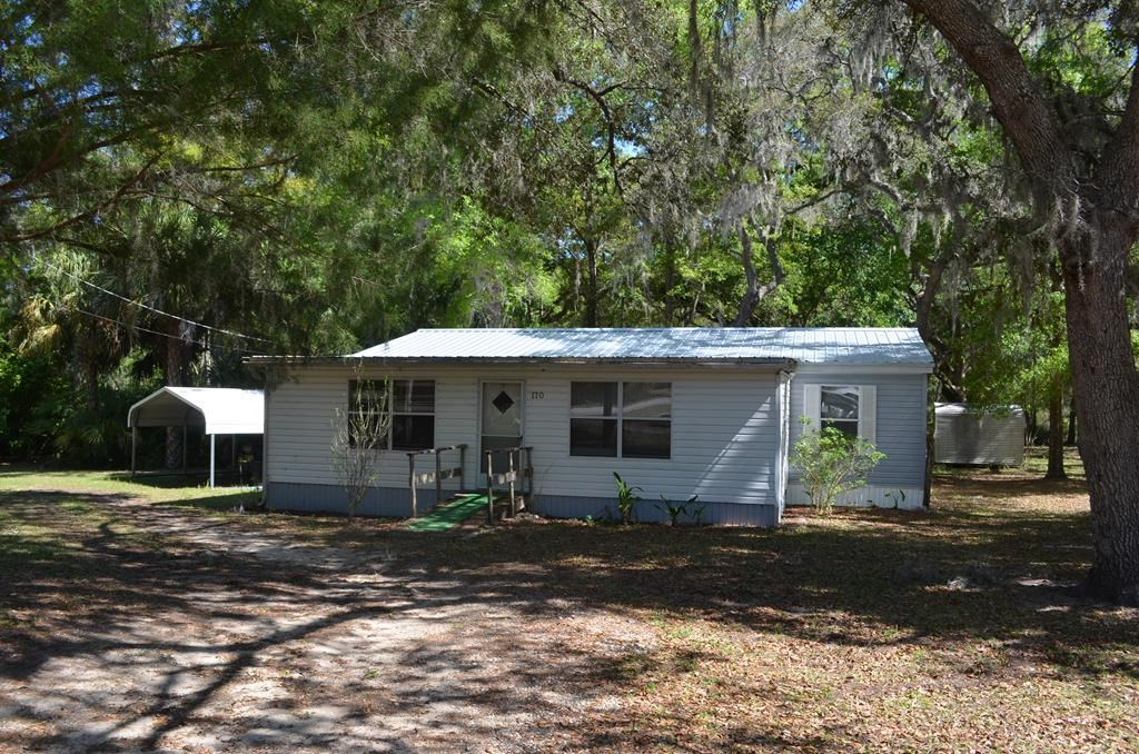 3/2 Mobile Home Levy County- First Homeor Rental Property
