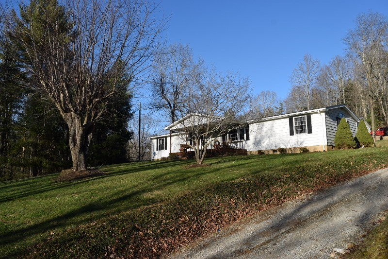 One Level Home in Floyd VA for Sale!