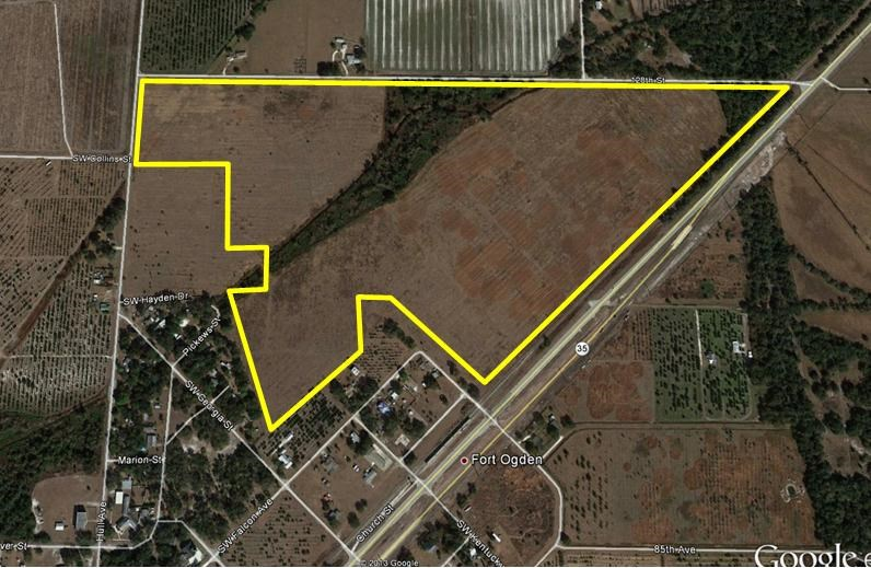 Housing Development 100 acres for sale Arcadia, Fl