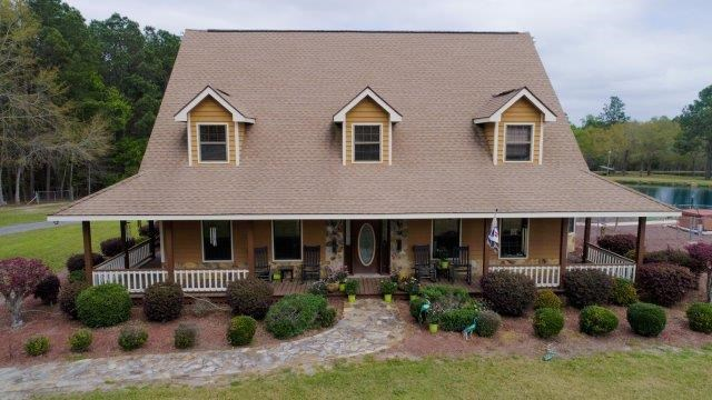 Turn Key Equestrian Facility & Custom Home in Vidalia, GA