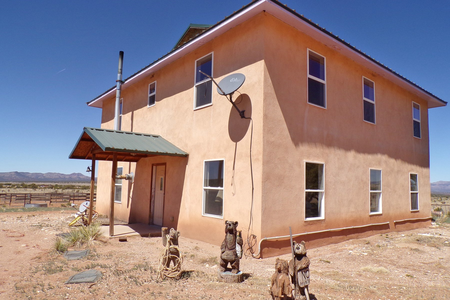 NM Equine Property For Sale near Mountainair on 40 Acres