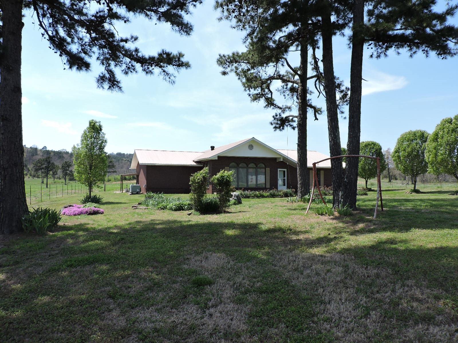 100 Acre Farm Ready For Cattle And Beautiful Brick Home
