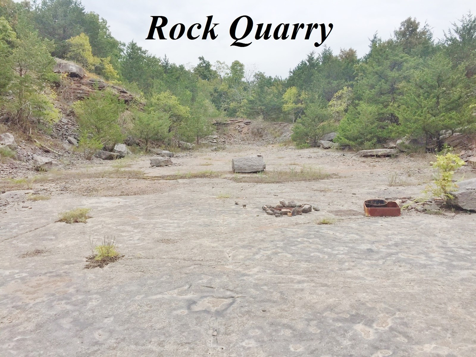 LAND FOR SALE WITH ROCK QUARRY