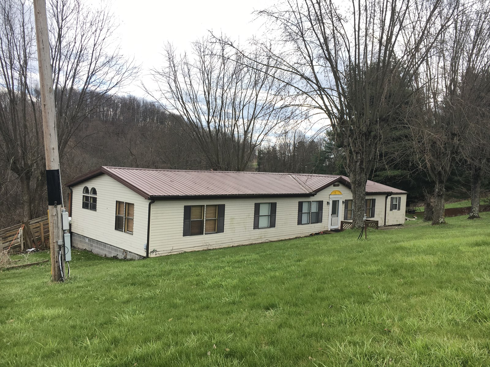Monroe County Manufactured home on Acreage
