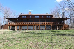 BED & BREAKFAST/LODGE / RESIDENTIAL LOG HOME FOR SALE IN MO