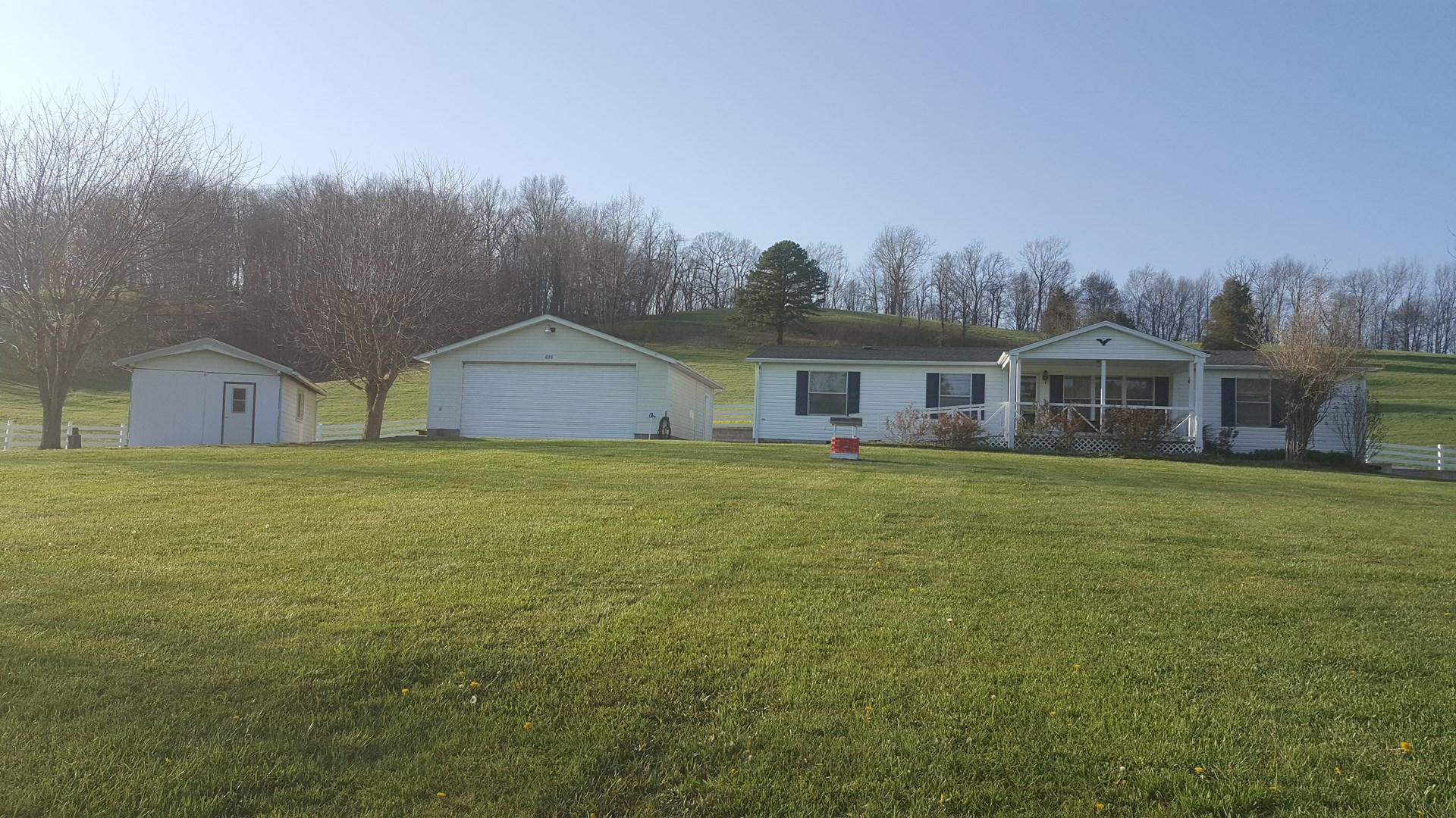 Peaceful Country Setting in Rural Retreat, VA