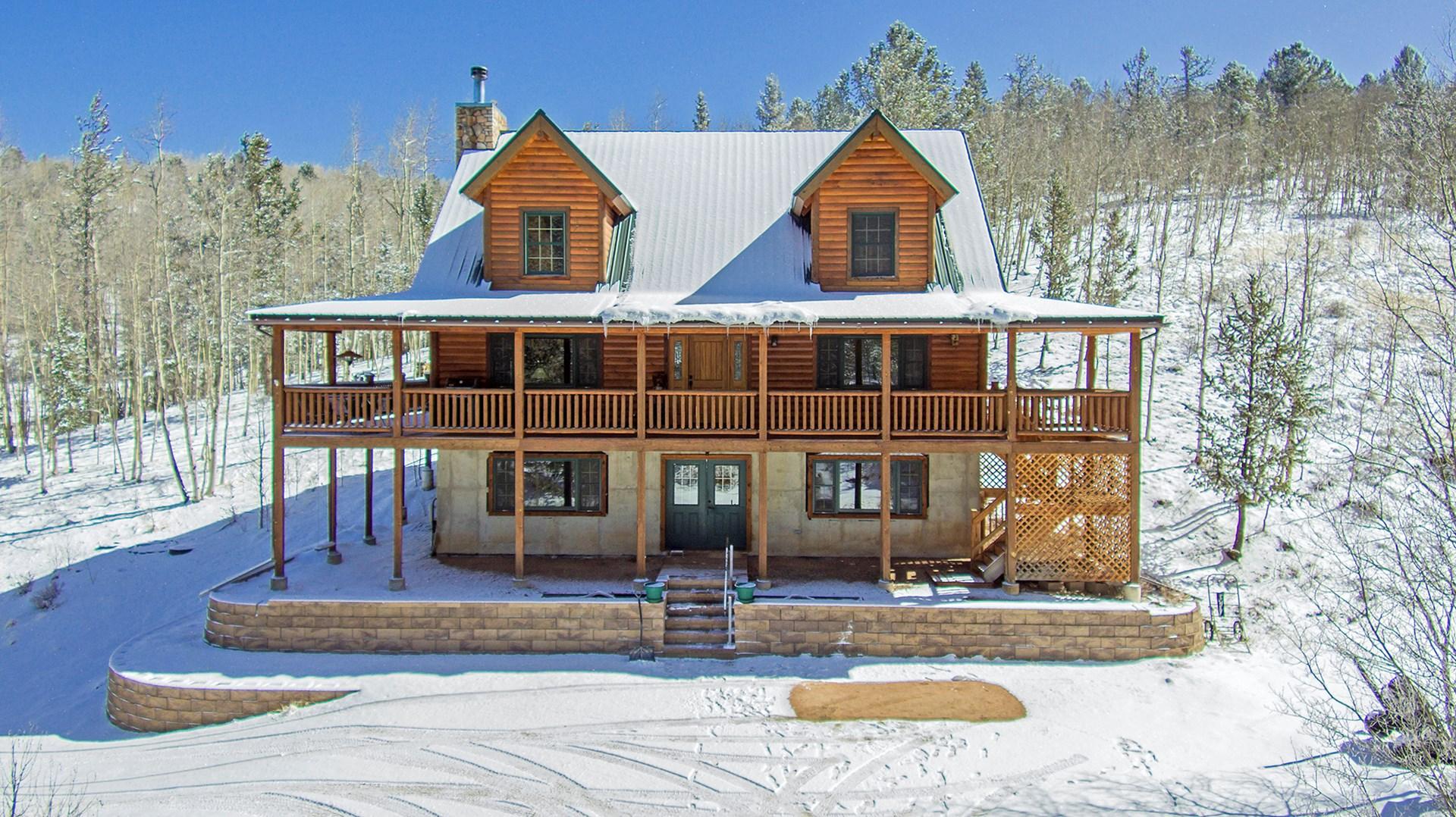 Colorado Mountain Retreat in Teller County