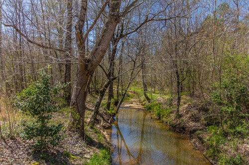 Tennessee Land for Sale with Creek and Rental House