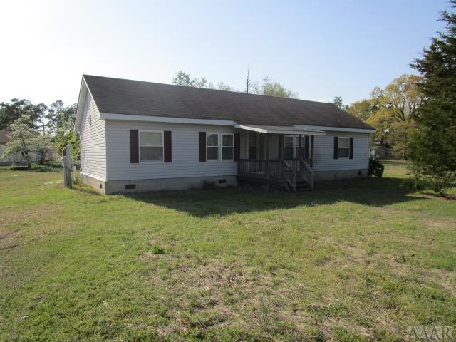 LARGE DETACHED GARAGE AND DOUBLE WIDE-EDENTON, NC