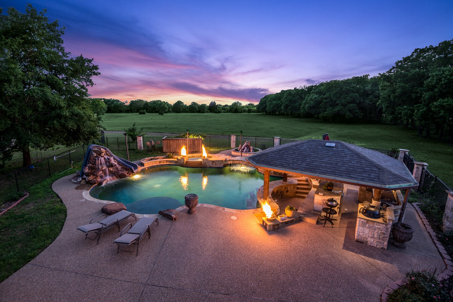 East Texas Luxury Ranch For Sale In Terrell Texas