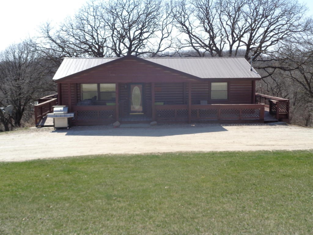 For Sale Log Sided Home 3 Bed/ 2 Ba Outbuildings on 2 Acres