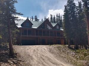 LOG ACREAGE MOUNTAIN SKIING AREA HOME FAIRPLAY CO 80440