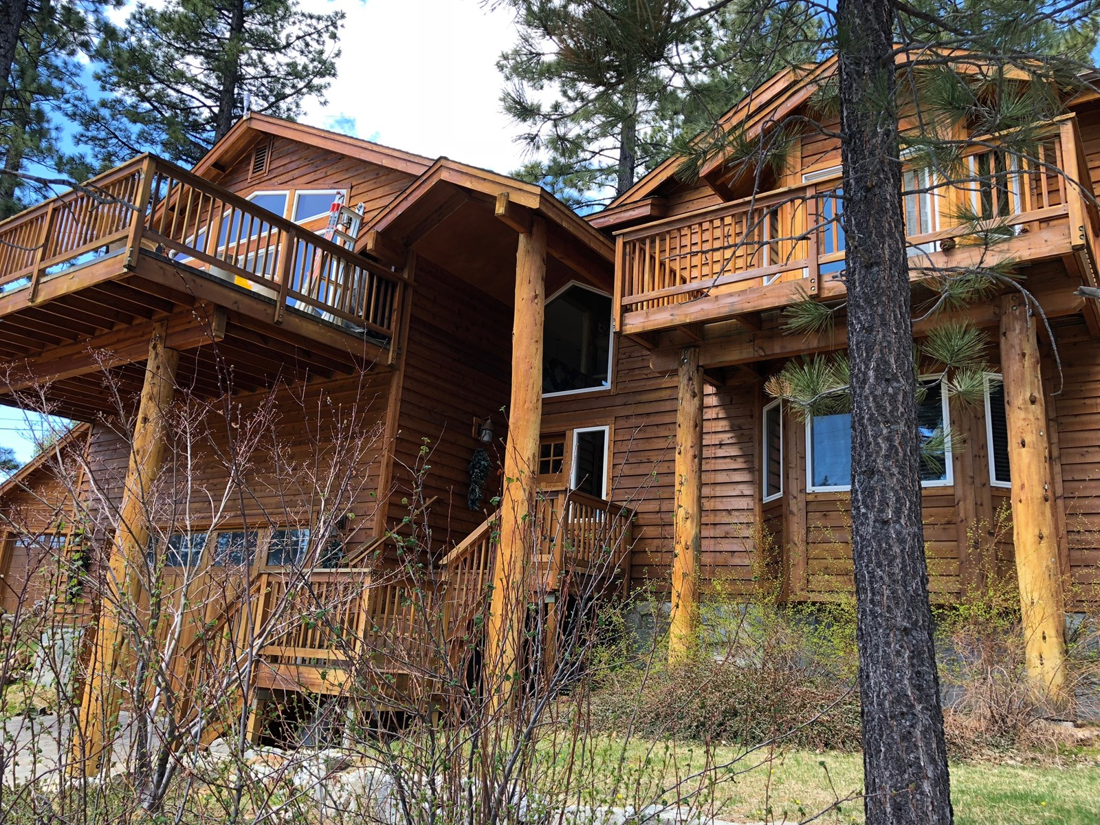 South Lake Tahoe Mountain home for sale near Fallen Leaf