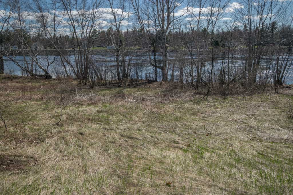 Maine Riverfront Lot for Sale in Howland