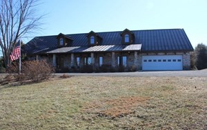 HOME FOR SALE IN BLUE RIDGE MOUNTAINS VIEWS ACREAGE