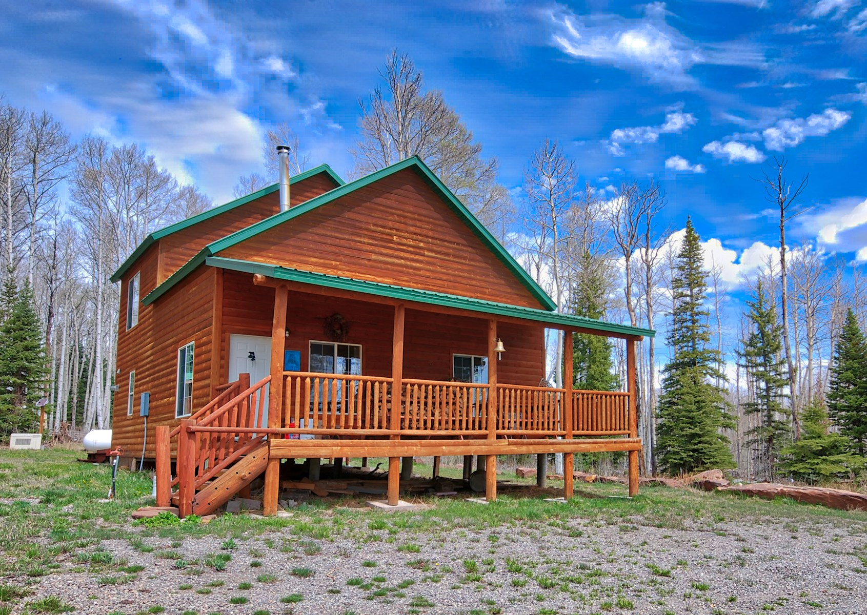 Mountain Property With Cabin For Sale in Western Colorado
