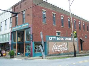 HISTORIC 3 STORY BRICK BUILDING FOR SALE IN LESLIE, ARKANSAS