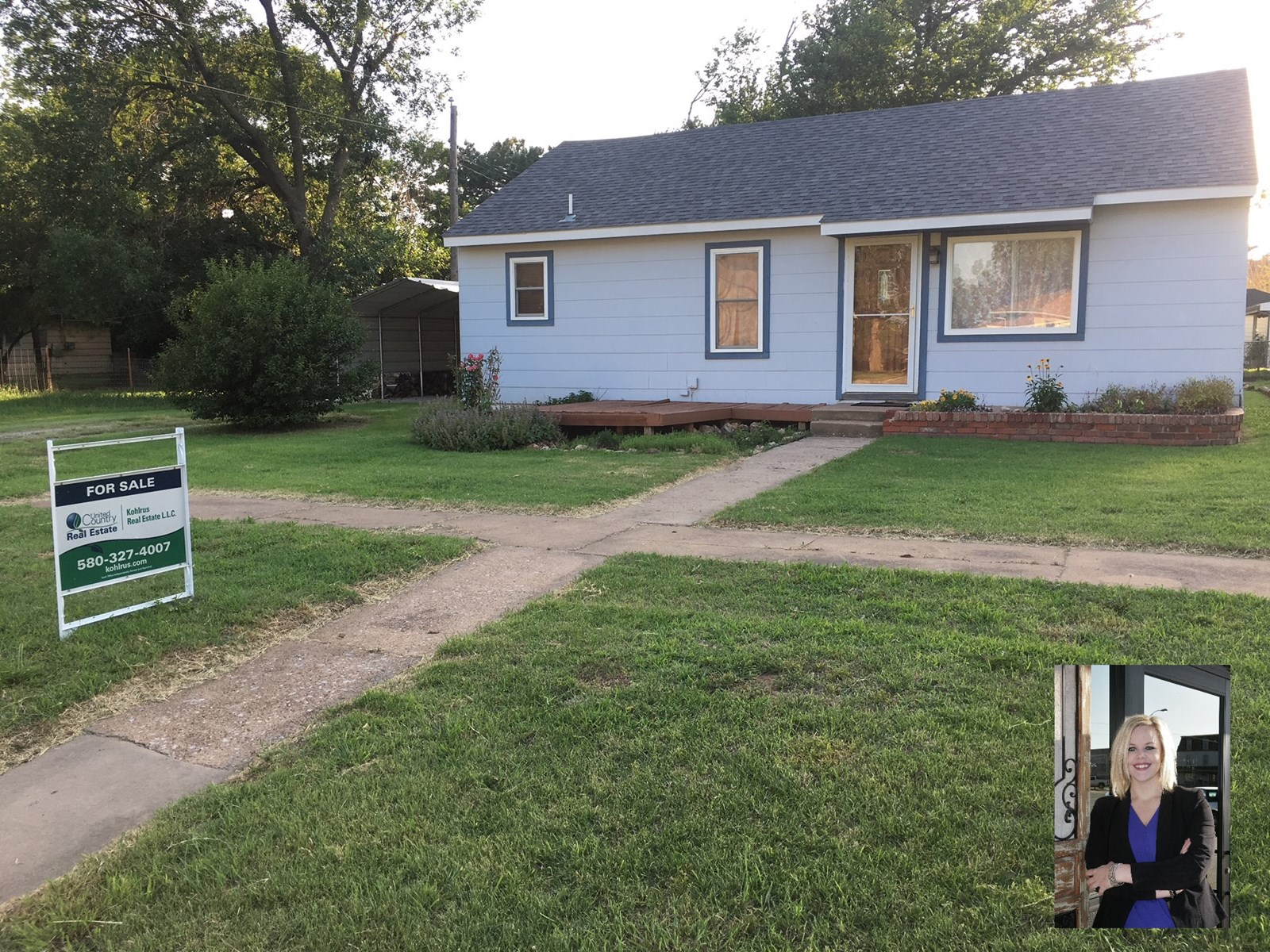 Kiowa, KS Home for Sale