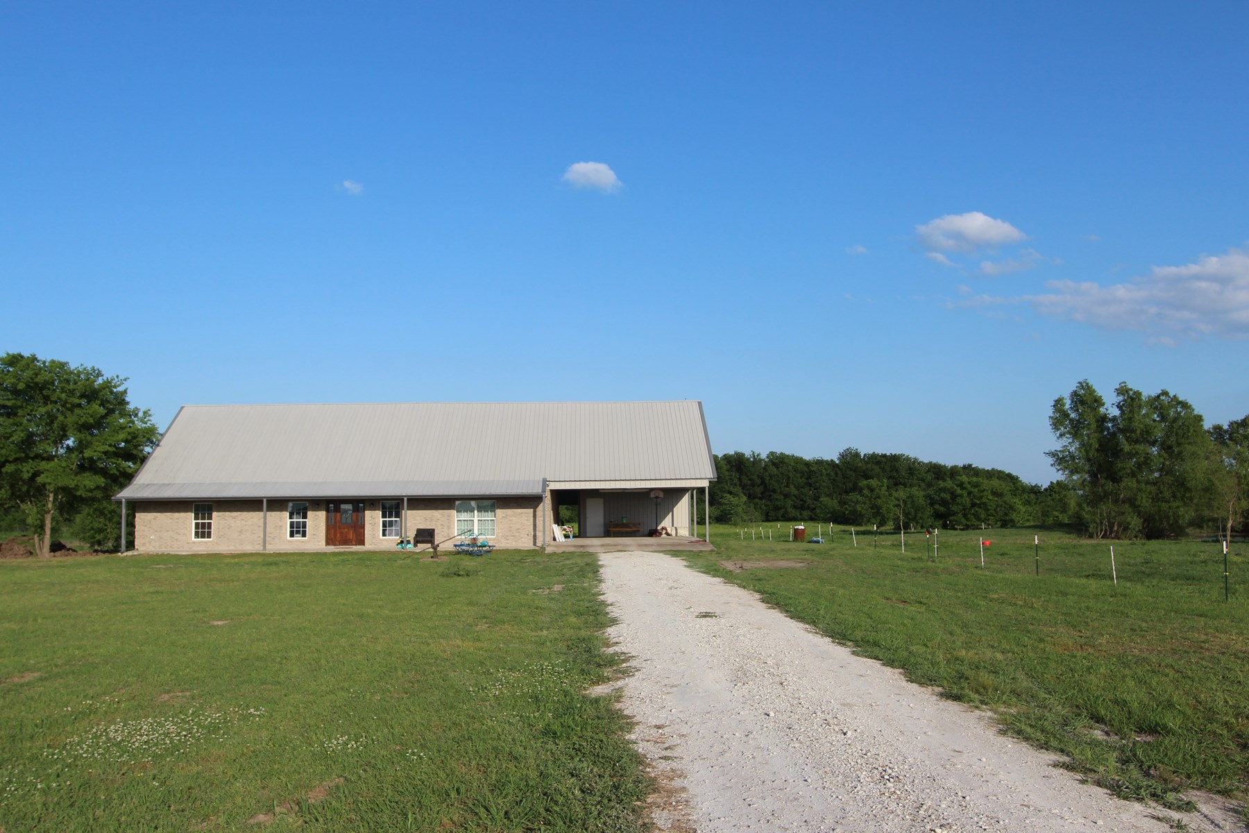 Ranch Style Country Home on Acreage for Sale Red River Co TX