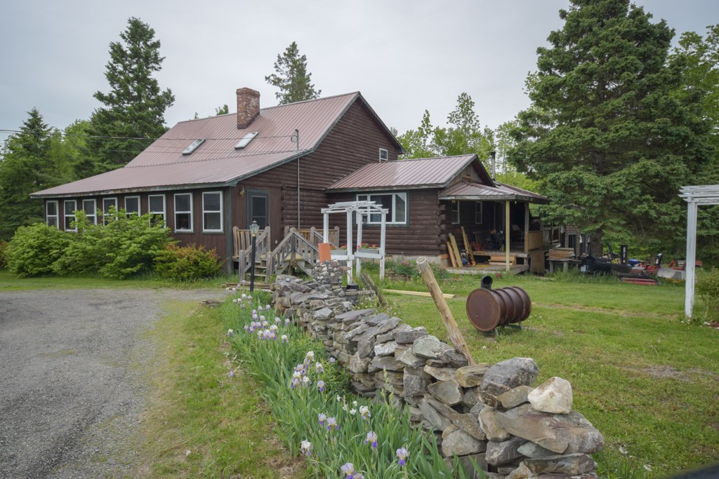Maine Country Home for Sale in Sherman