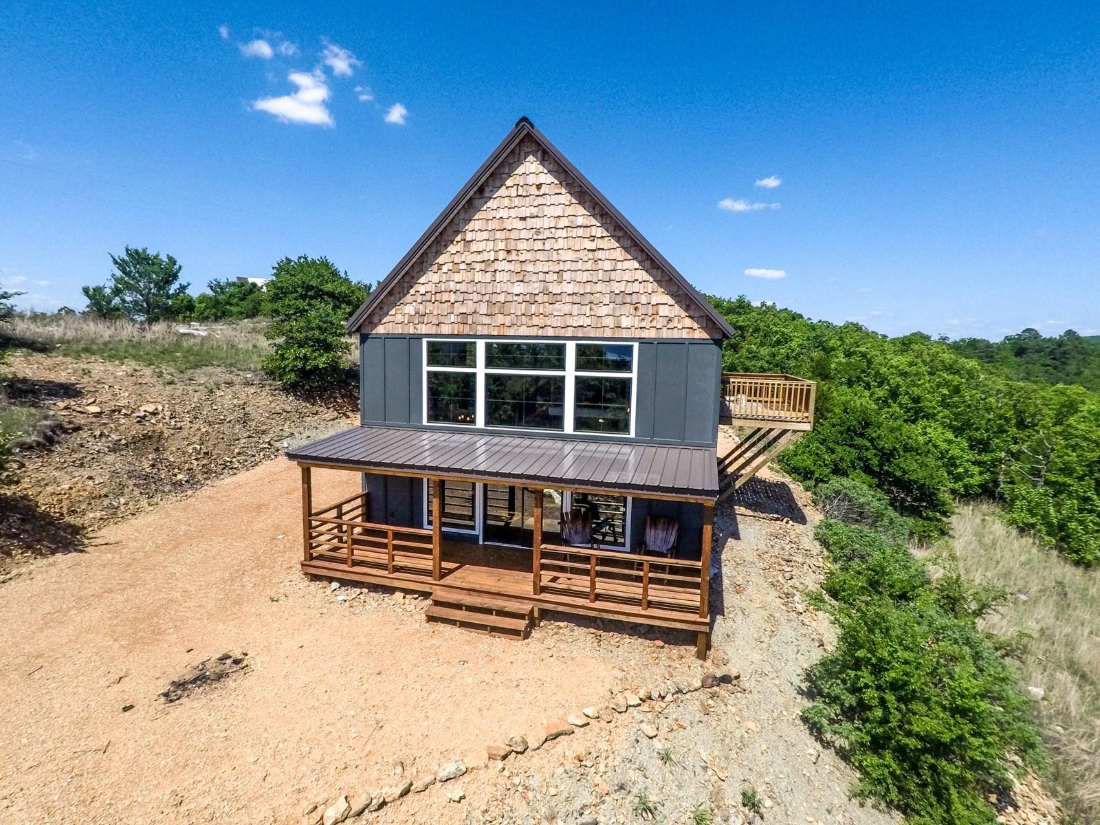 Mountain Modern Lake House For Sale Sardis Lake Clayton Ok