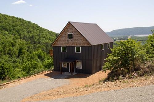 Mountain Modern Lake House for Sale Sardis Lake Clayton,OK