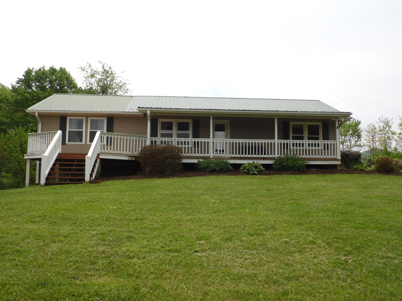 Ranch Style Home for Sale Blue Ridge Mountains Alleghany CO
