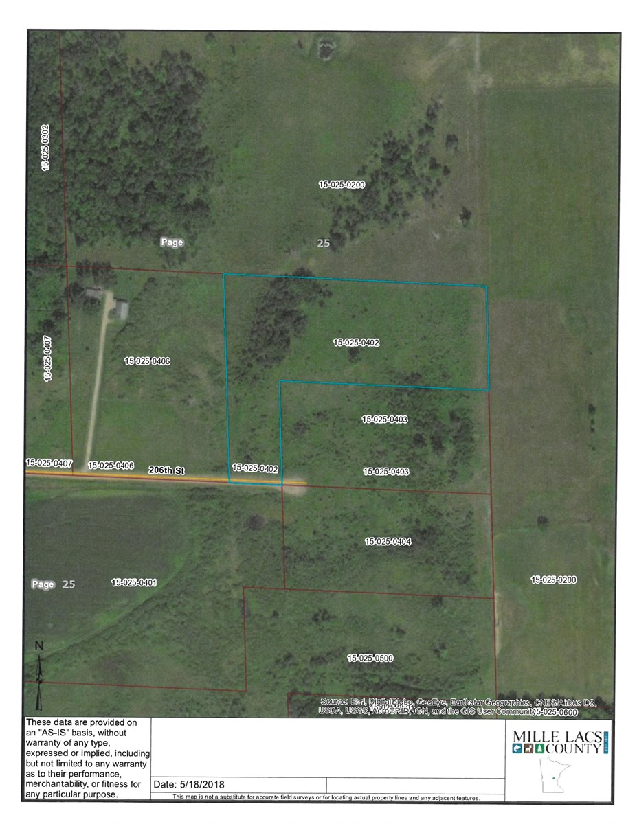 Milaca MN Buildable Land For Sale