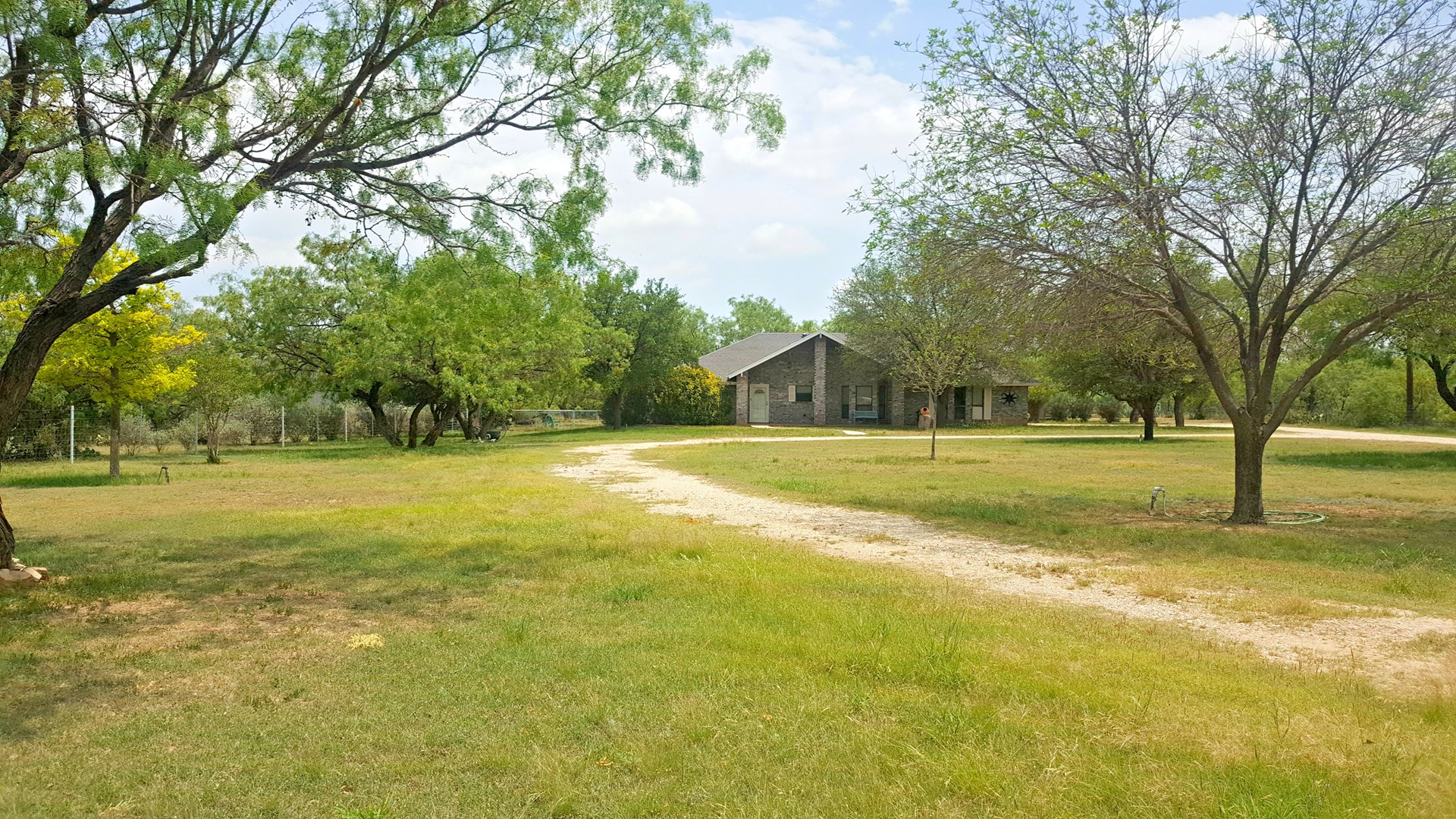 Home with acreage near San Angelo, Tx in Dove Creek Addition