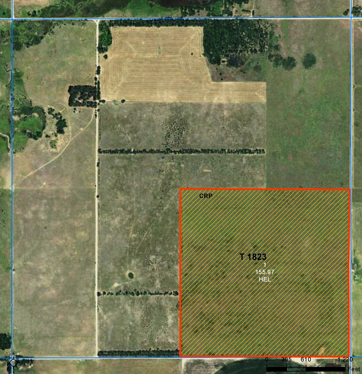 Land Auction - 160 Acres M/L - Stafford County Kansas