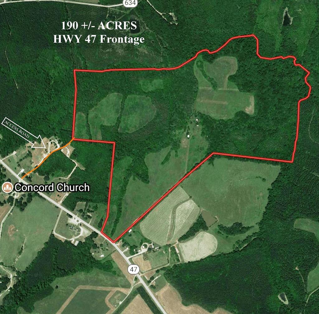 Rolling Hills Farm 190 AC Mecklenburg Co VA Auction!