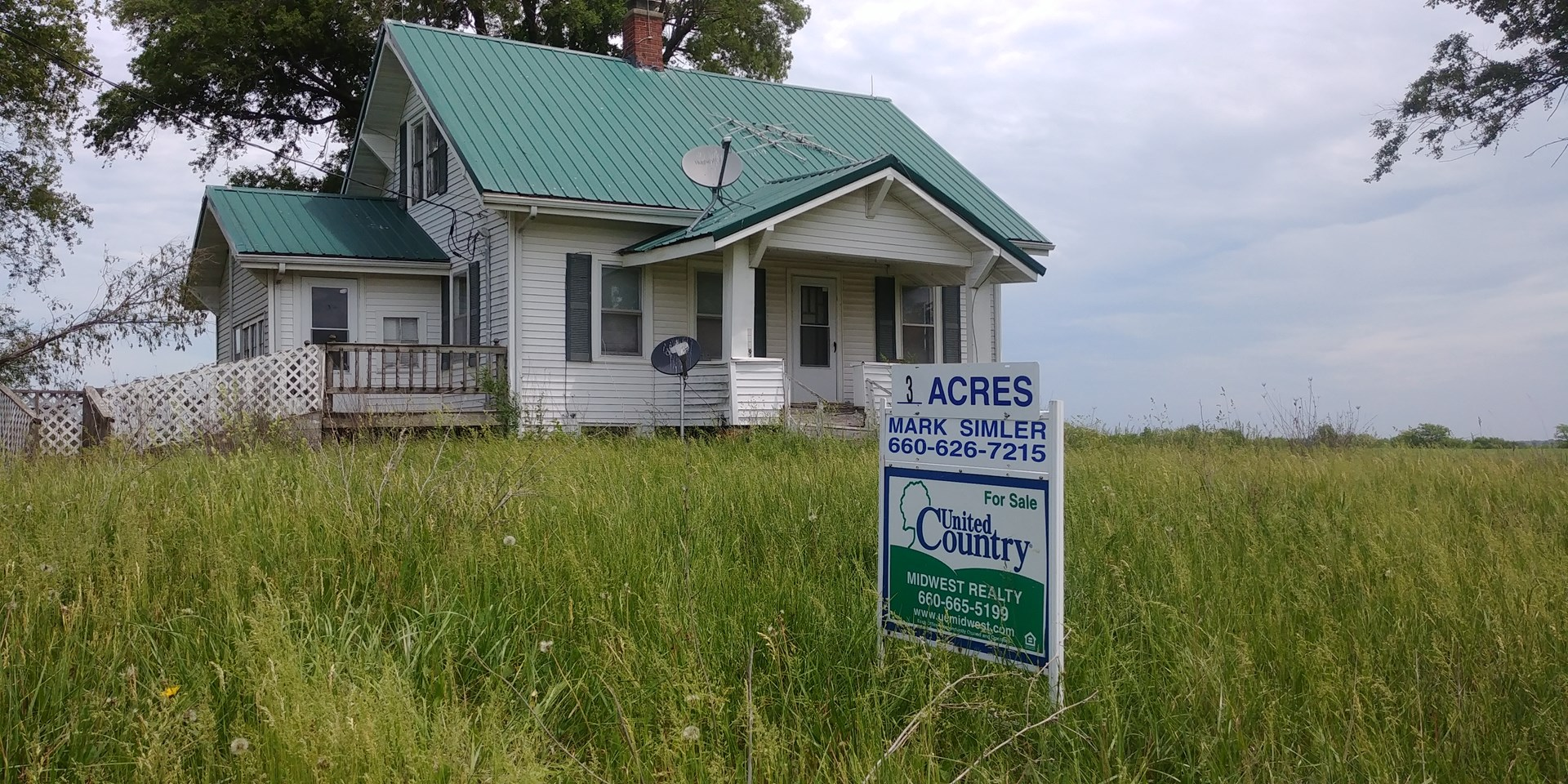 COUNTRY HOME ON 3 ACRES, GREEN CITY MISSOURI FOR SALE