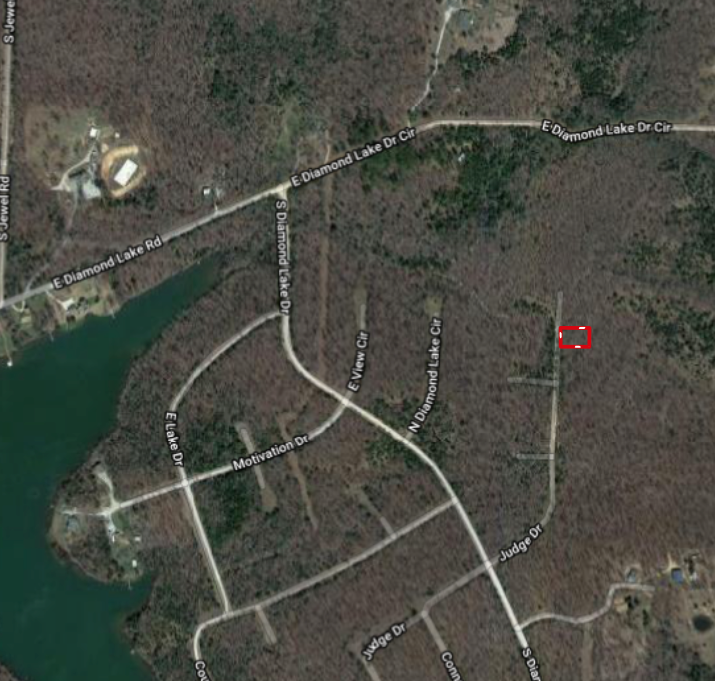 Lot For Sale Near Crown Lake in Horseshoe Bend Arkansas